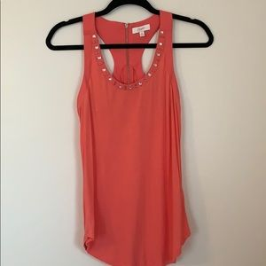Candies coral colored top
